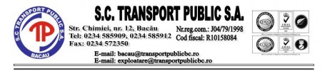 PROCES TRANSPORT PUBLIC SA BACAU