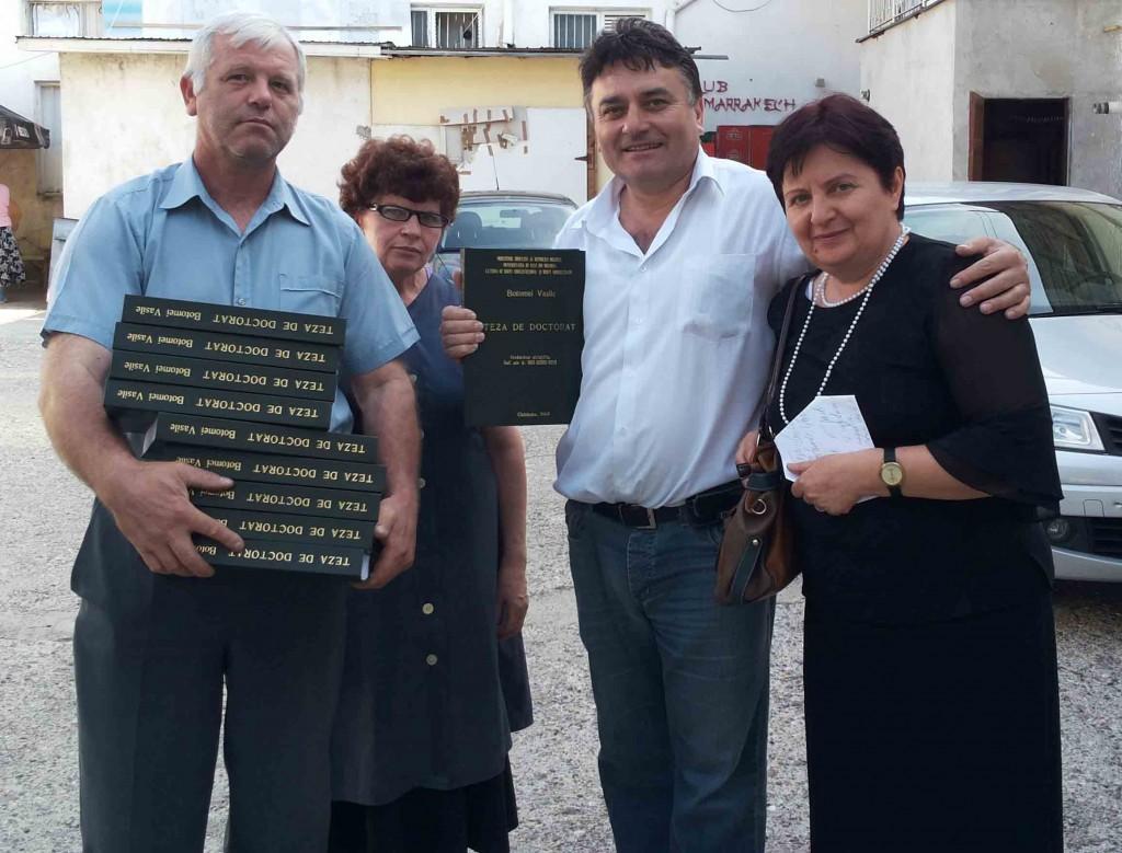 10 exemplare dupa teza de doctorat a autorului Vasile Botomei. Editura Elena din Bacau