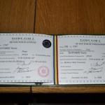 Dr. Botomei Vasile - Diploma de Doctor